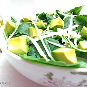 Fennel and Baby Kale Salad with Lemon Thyme Dressing