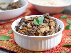 Kerala Beef Fry on MyHeartBeets.com