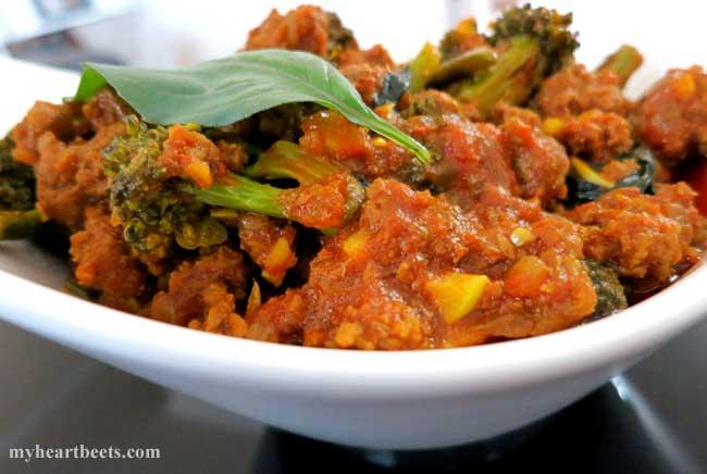 Thai Ground Beef Curry