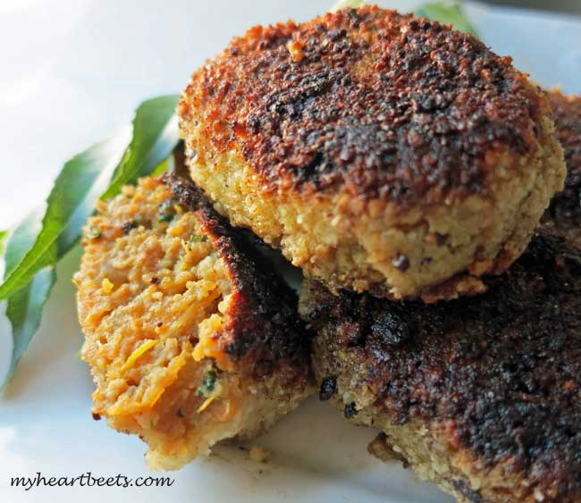 Indian Beef Cutlets (Paleo)