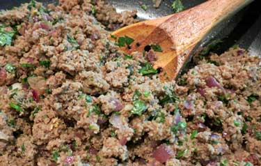 Indian beef cutlets paleo my heart beets beef and onion mixture forumfinder Image collections