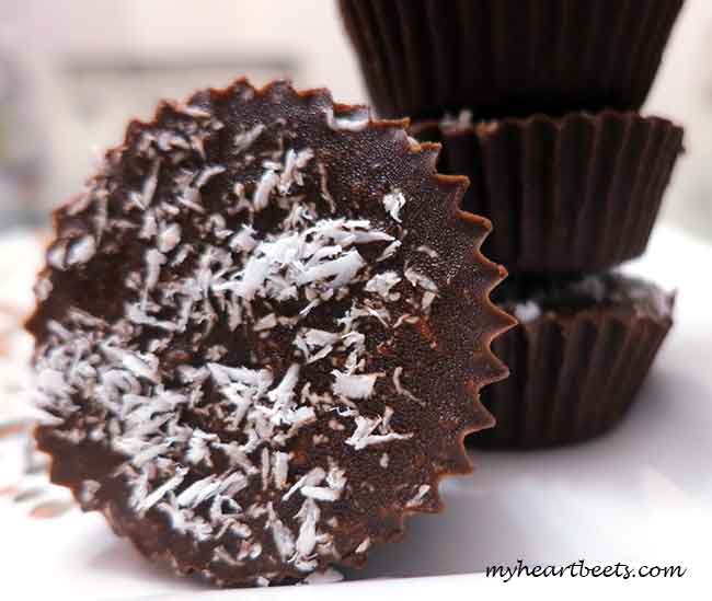 Chocolate Coconut Butter Cups
