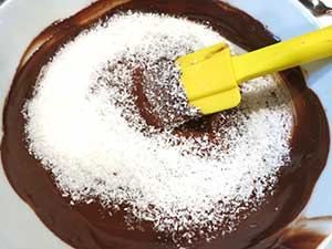 Chocolate Mixture in Bowl