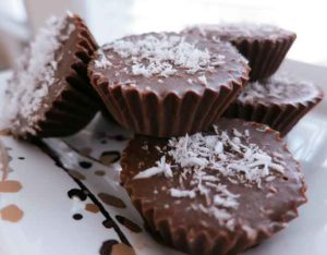 Chocolate Coconut Butter Cups (dairy-free)