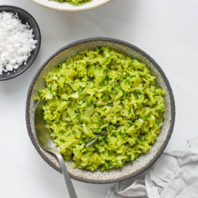 Zucchini Thoran (Indian Stir-fry)