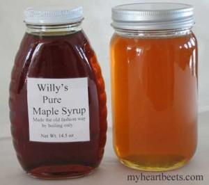 Maple Syrup vs. Honey