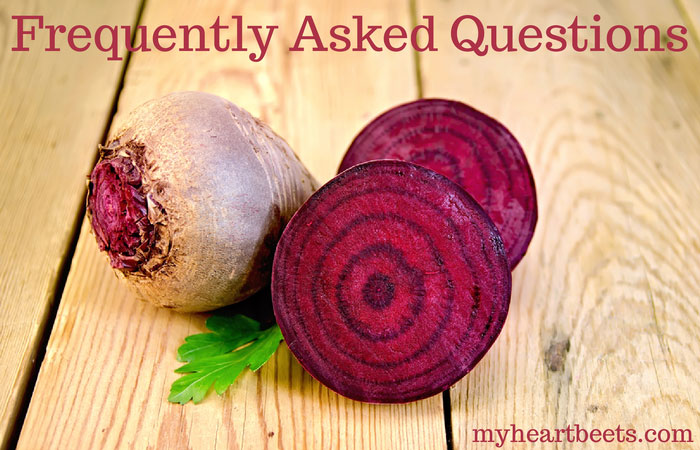 my heart beets frequently asked questions