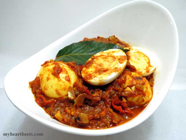 North Indian Egg Curry