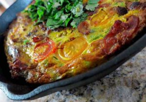 Spicy Egg Frittata
