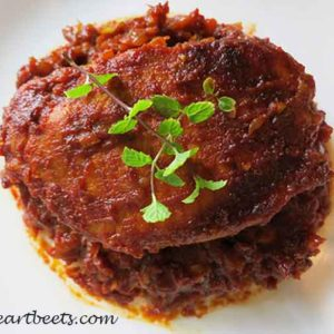Sweet and Spicy Indian Pork Chops