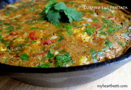 Curried Egg Frittata