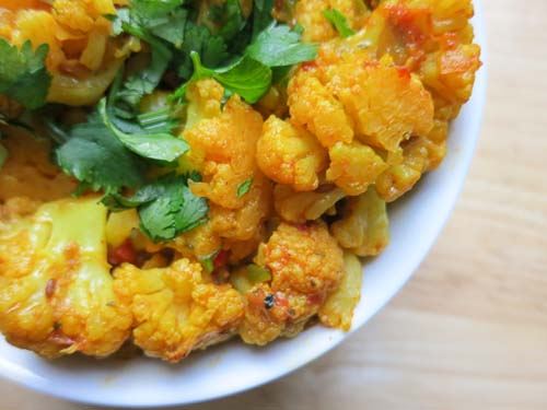 Masala cauliflower my heart beets cauliflower coated with indian spices forumfinder Gallery