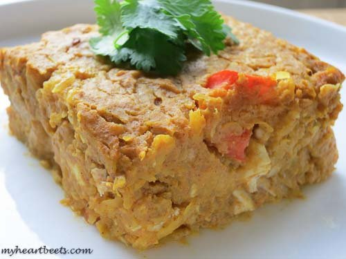 creamy pumpkin chicken casserole - need i say more?