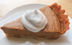 Apple Butter Pumpkin Pie (Paleo)