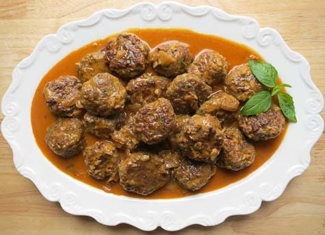 Thai meatball curry = fantastic