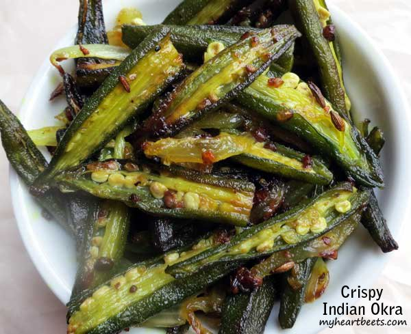 Crispy Indian Okra Bhindi My Heart Beets
