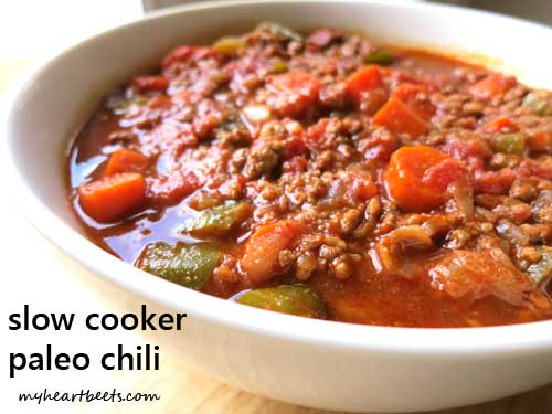slow cooker paleo chili