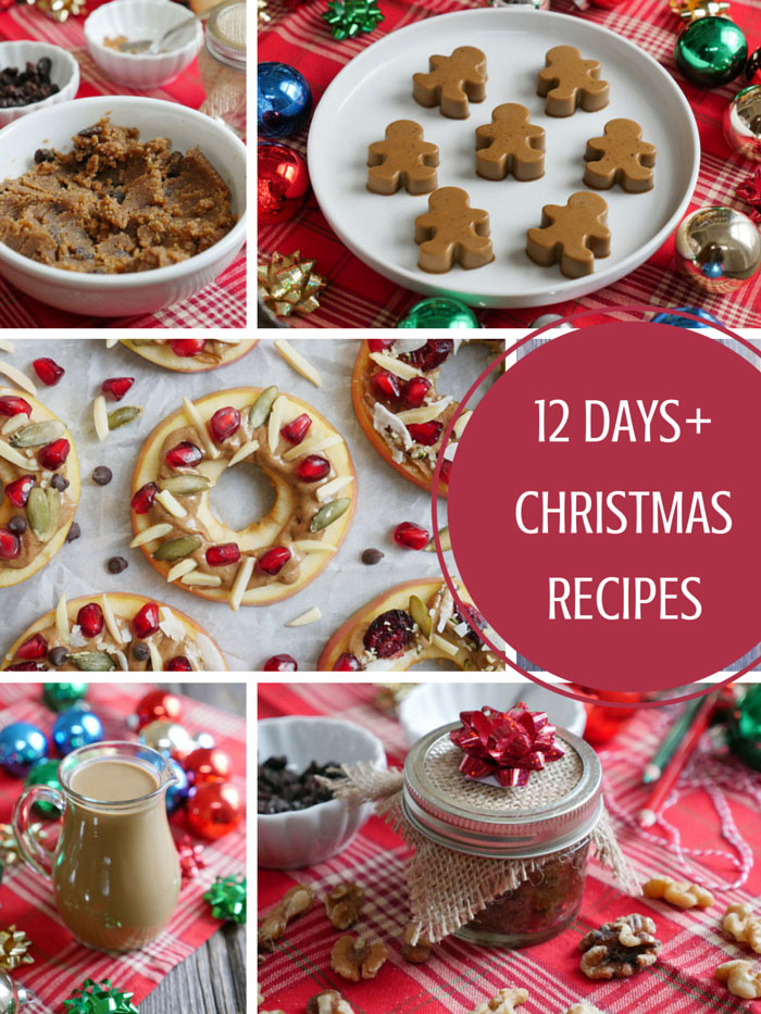 12 Days of Paleo Christmas Desserts