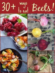 30 delicious beet recipes!