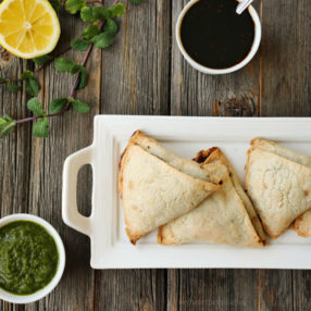 Paleo Samosa: gluten-free and dairy-free by MyHeartBeets.com