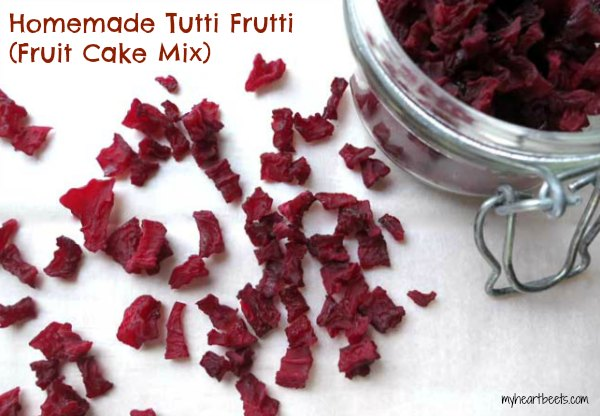 Homemade Tutti Frutti (Fruit Cake Mix)
