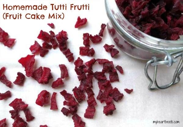 homemade fruit cake mix