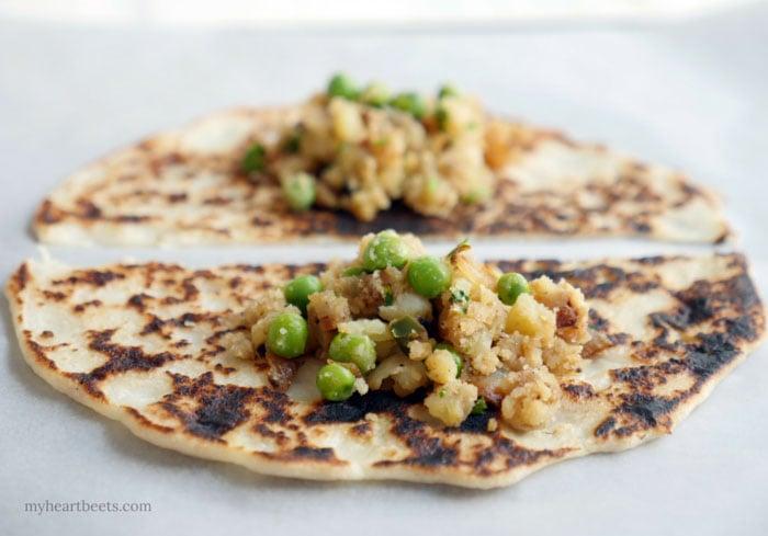 Paleo Samosa: gluten-free and dairy-free by MyHeartBeets.com