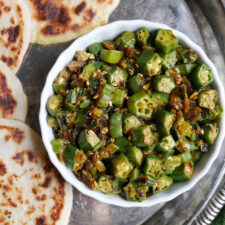 Crispy Indian Okra (Bhindi)