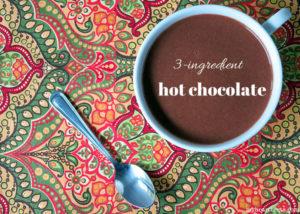 3 Ingredient Paleo Hot Chocolate