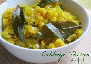Cabbage Thoran (Stir-Fry)