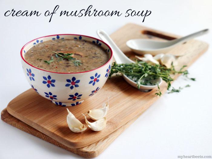 Cream of Mushroom Soup (Paleo)