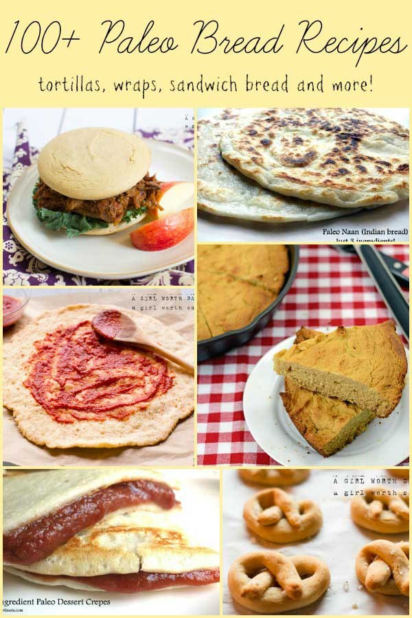 100+ savory paleo bread recipes