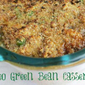 paleo green bean casserole - gluten free, dairy free recipe from myheartbeets.com