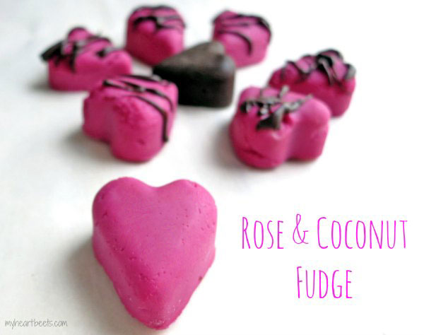 Rose & Coconut Candy