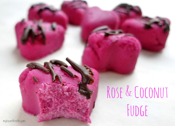 rose fudge by myheartbeets.com