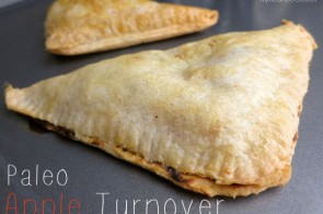 Paleo Apple Turnover by www.myheartbeets.com