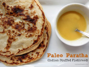 Paleo Paratha (Stuffed Flatbread)