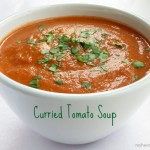 curried tomato soup - perfect for spring/summer by myheartbeets.com