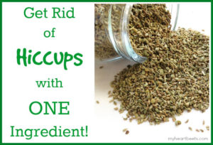cure hiccups with one ingredient - myheartbeets.com