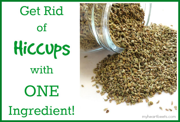 get rid of hiccups with one ingredient - myheartbeets.com