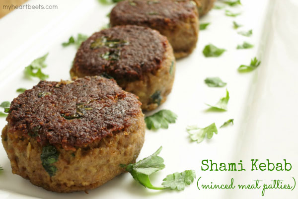 A popular melt-in-your-mouth minced meat kebab - from myheartbeets.com