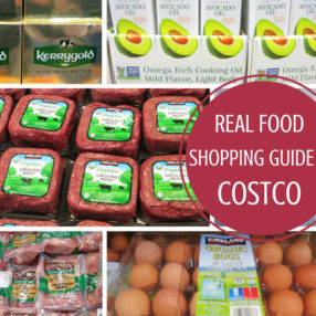 real food shopping guide for costco by myheartbeets.com