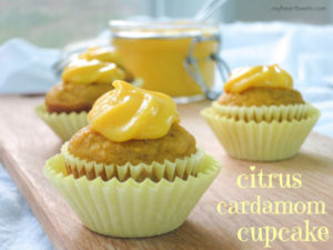 citrus cardamom cupcake by myheartbeets.com