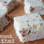 coconut mithai aka coconut fudge by myheartbeets.com