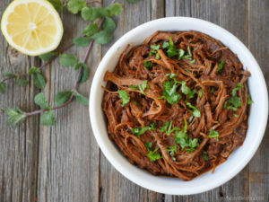 Indian Style Pulled Pork by Ashley of myheartbeets.com