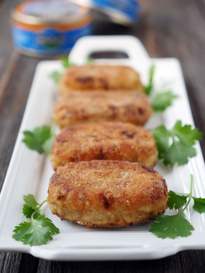 Tuna Cutlets or Croquettes by Ashley of myheartbeets.com
