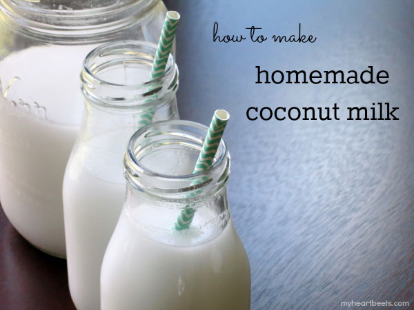 how to make homemade coconut milk and coconut flour by myheartbeets ...