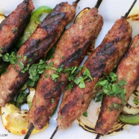 seekh kebab by myheartbeets.com