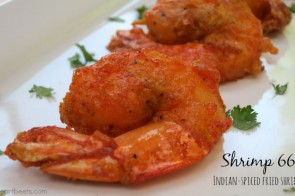 Shrimp 66: Indian-spiced fried shrimp by myheartbeets.com