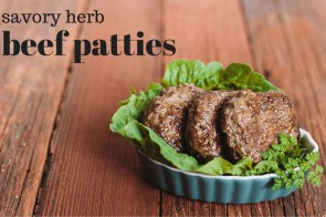 savory breakfast patties + autoimmune paleo cookbook review